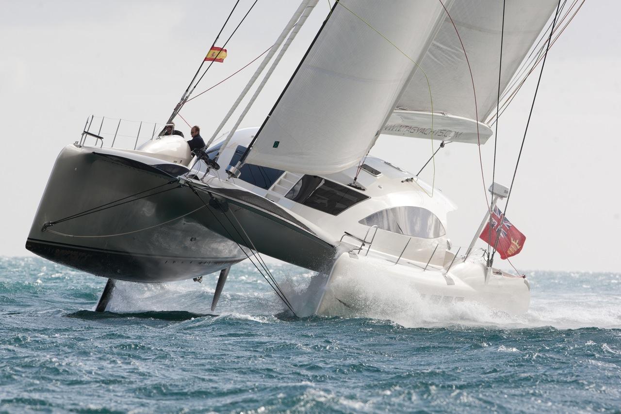 Tag 60 We Test Sail on Design Gt Luxury Yacht Interior